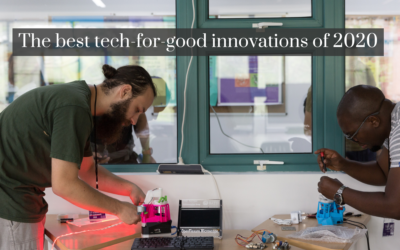 The best tech-for-good innovations of 2020